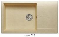Мойка для кухни гранитная Polygran Gals-862 опал код 101950