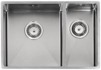 Кухонная мойка из нержавеющей стали Reginox Florida L 34х37+18х37 код 101518