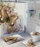 Набор для ванной комнаты Zalel HT198, 4 предмета код 102039