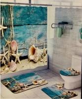 Набор для ванной комнаты Zalel HT202, 4 предмета код 102037