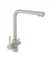 Смеситель для кухни Bergg светло-серый с возможностью подключения фильтра для воды код 101260