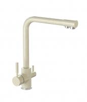 Смеситель для кухни Bergg бежевый с возможностью подключения фильтра для воды код 101254