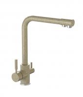 Смеситель для кухни Bergg песочный с возможностью подключения фильтра для воды код 101256
