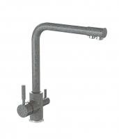 Смеситель для кухни Bergg темно-серый с возможностью подключения фильтра для воды код 101258