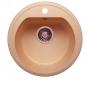 Мойка для кухни искусственный камень Polygran F-05 бежевая код A004174