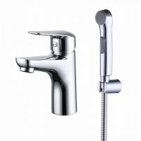 Смеситель для умывальника с гигиеническим душем, Torr, IDDIS, TORSB00i08 код 100947