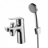 Смеситель на борт ванны на 1 отверстие с керамическим дивертором Torr, IDDIS, TORSB10i07 код 101040
