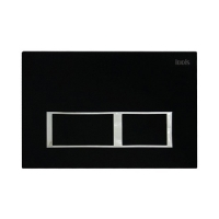Клавиша смыва, универсальная, матовый черный, Unifix, 061, IDDIS, UNI61MBi77 код 101237
