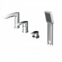Смеситель для ванны на 4 отверстия, Vane, IDDIS, VANSB40I07 код 101042