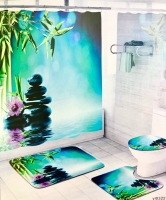 Набор для ванной комнаты Zalel yl0322, 4 предмета код 102041