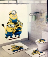 Набор для ванной комнаты Zalel yl0372, 4 предмета код 102042