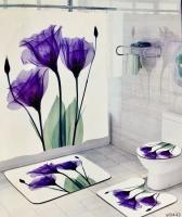 Набор для ванной комнаты Zalel yl0442, 4 предмета код 102043