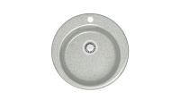 Кварцевая мойка для кухни Bergg Z30 светло-серая код 100556