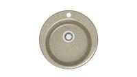 Кварцевая мойка для кухни Bergg Z30 песочная код 100553